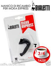 Bialetti Ricambi 1 manico per moka 3 o 4 tazze handle Griff für Mokka coffee