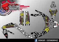 APRILIA MX SX 125 2009-2013  FULL CUSTOM GRAPHICS KIT DECALS MOTOCROSS STICKERS