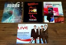 "DURAN DURAN RCM / AYNIN Set Of Four 6""x 4"" Promo Advert Postcards. GIFT IDEA 8"