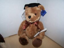 Applause Graduation TEDDY BEAR  with Cap and Diploma. FREE SHIP TO THE U.S.A