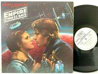 Star Wars Empire Strikes Back RSO White Label PROMO LP Vinyl Record Album