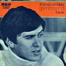 """7"""" GIANNI MORANDI Il mondo cambierà/L 'ospite Ruggero Cini RCA 45rpm ORIG. 1973"""