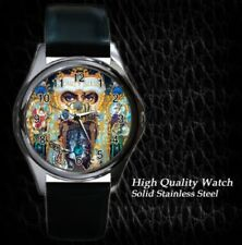 New Michael Jackson Dangerous Leather Watch Gift