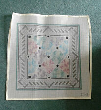 Needle Point Canvas handpainted  ( Canvas Only )