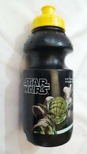 Star Wars Borraccia in Plastica 18cm Nera - Disney Guerre Stellari Originale New