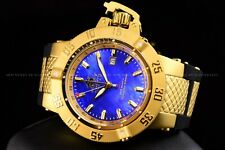 Invicta 50mm Subaqua Noma III Blue MOP 18KGP Collectors Edition GMT Swiss Watch