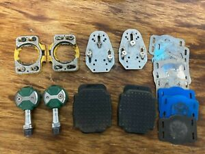 Speedplay Zero Stainless Pedals With Cleats and Walking Covers