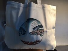 SIMON DREW LARGE TOTE BAG: DON'T TELL HIM PIKE - MATCHES CARD  & TEA TOWEL- NEW