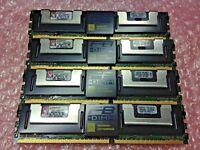 Kingston 16GB (4X4GB) KTH-XW667/8G PC2-5300 (DDR2-667MHz) FBD DIMMs Server RAM
