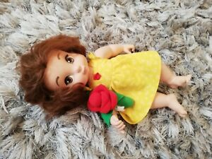 Disney Store Baby Belle Soft Body Animator Doll beauty and beast