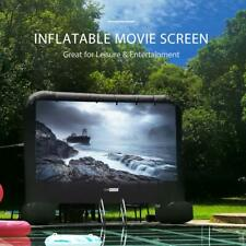 VIVOHOME 14FT 20FT Inflatable Movie Projector Screen Widescreen Outdoor Cinema