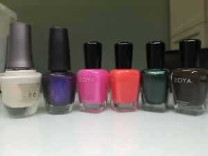 Nail polish Morgan Taylor, OPI, Zoya Lot of 6