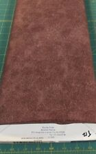 Round 'Em Up Chocolate Brown Leather Look Quilt Fabric for Windham - Yardage
