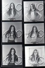 Topless in Double Exposure R HENDRICKSON Negatives Photograph Contact Sheet D957