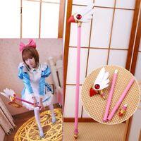 Anime Card Captor Sakura Kinomoto Bird Cane Magic Wand Stick Cosplay Props Gift