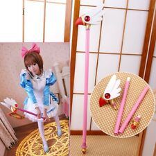 Anime Card Captor Sakura Kinomoto Bird Cane Magic Wand Stick Cosplay Props Gift