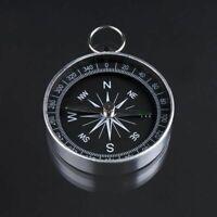 Pocket Mini Compas Hiking Camping Lightweight Chaveiro Brujula Black Tool Wild