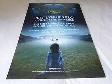 JEFF LYNNE'S ELO - Publicité de magazine / Advert ALONE IN THE UNIVERSE !!!!!!!!