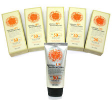 [3W CLINIC] Intensive UV Sunblock Cream SPF50 PA+++ (70ML X 5ea) / Makeup Base