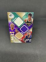 Lebron James - Kobe Bryant - Oscar Robertson /35 Game Used Patch - Upper Deck