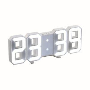 LIVOO  Horloge digitale Blanc