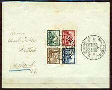 Briefmarken aus dem deutschen Reich (1924-1932) auf Bedarfsbrief