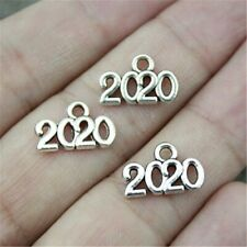 12 Year 2020 Charms Antique Silver Tone