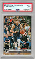 **Luka Doncic** 2018 Panini Chronicles #111 RC Rookie PSA 9 Mint!!