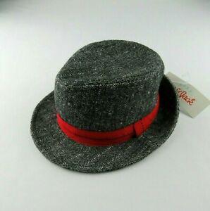 Cat & Jack Baby Boys Gray Fedora Hat Size 0-6 Months