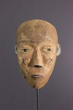 KONGO MASK AFRICAN TRIBAL ART AFRICAIN ARTE AFRICANA AFRIKANISCHE KUNST **