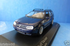 VW GOLF 4 RABBIT VARIANT 1999 INDIGOBLAU METALLIC MINICHAMPS 430056014 1/43 BLUE