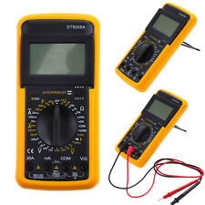 Digital Multimeter AC/DC Ammeter Voltage Current Resistance Capacitance Tester