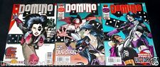 Marvel Comics 1996 DOMINO #1-3 Complete Limited Series Set X-FORCE Deadpool