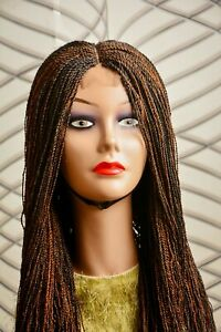 Braided Twist Wig with centre Part color 1/30
