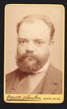Antonin Leopold DVORAK (Composer): Original CDV Photograph