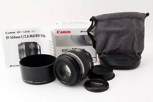 Canon 60mm f2.8 Macro USM EF-S6028MU 4960999271200 canon mount from japan