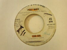 Peggy March RCA DJ 8605 Your Girl and Let Her Go
