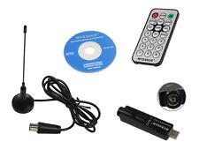 DECODER DIGITALE TERRESTRE USB 2.0 PER NOTEBOOK E PC DVB-T CON TELECOMANDO