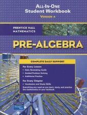 Prentice Hall Mathematics California Pre-Algebra All-In-One Student Workbook...