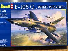 """Sehr selten! F-105 G  """"WILD WEASEL"""" von Revell in 1:48"""