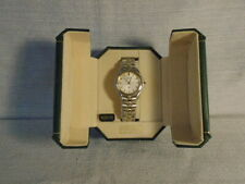 Rare Seiko Kinetic Mens Guys Watch Gold Silver SLB002 New $695 Sapphire Crystal