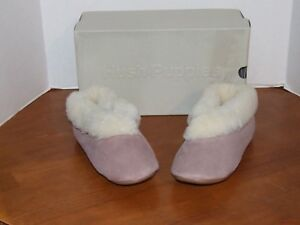 Hush Puppies Sarah Rose or Blue Slippers Size 10