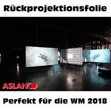 Aslan RP 35, Rückprojektionsfolie für Glasflächen, 135 cm Breite x 100 cm Länge
