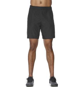 Asics Men's Running Shorts FuzeX 7 Inch Fitness Shorts - Black - New