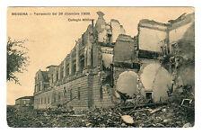 Terremoto Del 28 Dicembre 1908 Photo Postcard Messina