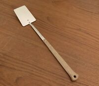 Vintage Flint Arrowhead Spatula Flipper Turner Wood Handle 18 3/8 Grill BBQ EUC!