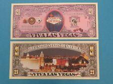 VIVA LAS VEGAS ~ Gambling, Entertainment ~ Fun $1,000,000 One Million Dollars