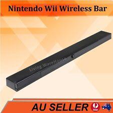 Infrared Ray Wireless Sensor Bar for Nintendo Wii / Wii U / Wii Mini Console AU