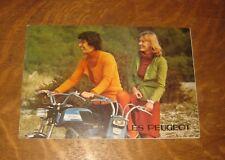 catalogue gamme mob cyclosport peugeot années 70