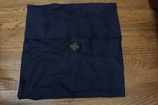 NWT Pottery Barn Textured Button pillow cover 20x20 Sailor blue dark blue